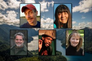 Featured tellers at the 2016 Forest Storytelling Festival in Port Angeles