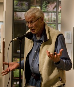 Dennis Duncan engages audiences with stories.