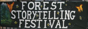 Festival banner, cropped